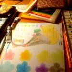 色紙の手作りデザイン!手書きレイアウト参考集!