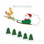 クリスマスカードを手作り!サンタクロースを作ろう!