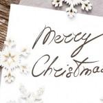 手作りクリスマスカードを彼氏にプレゼントしよう!