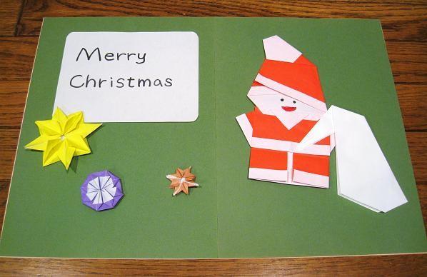 ハート 折り紙 クリスマスカード 折り紙 : tedukurisyugei.com