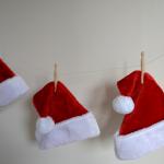 サンタクロースの帽子やカードを手作りしちゃおう!